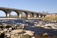 rapids hexham моста Стоковые Изображения RF