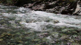 Rapids On North Fork American River Near Colfax stock footage