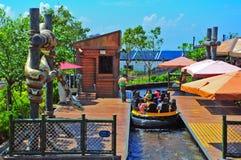 the rapids ocean park, hong kong Stock Photos