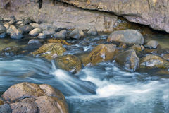 Rapids in river in Cederberg Mountains Royalty Free Stock Image