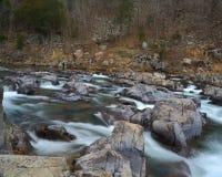Rapids rocciosi fotografie stock libere da diritti