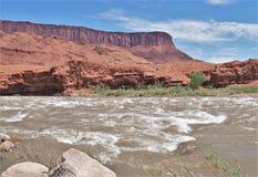 Rapids rocosos Imagen de archivo