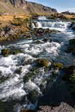 Rapids in Vik in Iceland Stock Photo