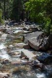 Rapids in Yosemite Royalty Free Stock Photo
