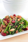 Rapini. Close up of vegan meal or colorful healthy side dish stock images