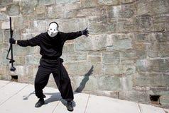 Rapitore dell'ombra a Quebec City Immagini Stock Libere da Diritti
