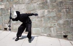 Rapitore dell'ombra a Quebec City Fotografia Stock