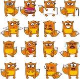 Raposas engraçadas (2) Imagem de Stock