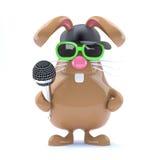 rappare för kanin för påsk 3d Royaltyfria Foton