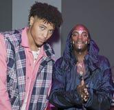 Rapparebarn och basketspelare Kelly Oubre Jr royaltyfri bild