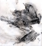 Rappe abstraite de pinceau Photographie stock libre de droits