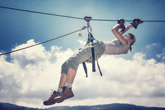 Rappel sport Royalty Free Stock Image