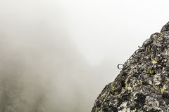Rappel stance Royalty Free Stock Photography