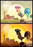 Rappeler de coq illustration stock