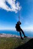 Rappelling Stock Photography