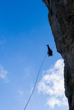Rappelling Stock Images