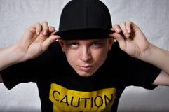 Rapper boy Stock Image