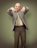 Rapper BusinessMan. Rapping BusinessMan Stock Images