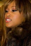 Rapper Eve alla caduta 2011 di settimana di modo di NYC Fotografia Stock