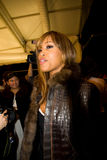 Rapper Eve at NYC Fashion Week Fall 2011 Stock Image