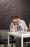 Rapper Fard (Farhad Nazarinejad) Stockfoto