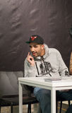 Rapper Fard (Farhad Nazarinejad) Stock Photo