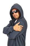 Rapper male posing Stock Photos