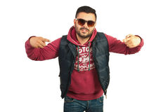 Rapper man with attitude Stock Photo