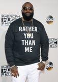 Rapper Rick Ross fotografia de stock royalty free