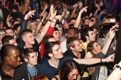 Rapper Tempa T parties in Tup Tup Palace Stock Images