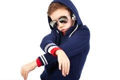 Rapper van de tiener Stock Foto