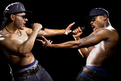 Rappers Battle Royalty Free Stock Photo