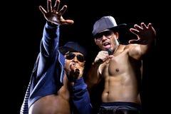 Rappers vechten Stock Afbeeldingen