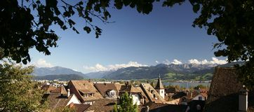 Rapperswil Royalty Free Stock Image
