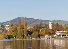 Rapperswil, autumn. Switzerland, Rapperswil city, autumn landscape Royalty Free Stock Photography