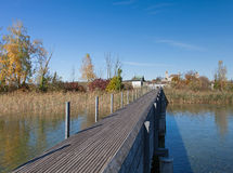 Rapperswil, autumn Royalty Free Stock Photo