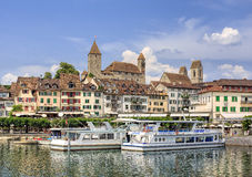 Rapperswil cityscape Royalty Free Stock Image