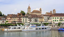 Rapperswil cityscape Royalty Free Stock Photos