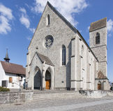 Rapperswil, die des Johannes Gemeindekirche Lizenzfreies Stockfoto