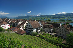 Rapperswil, Switzerland stock photo