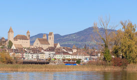 Rapperswil. Switzerland, Rapperswil city in autumn Stock Images