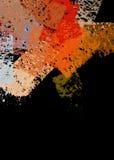 Rappes abstraites de peinture illustration stock