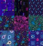 Rappezzatura fatta di vari ornamenti royalty illustrazione gratis