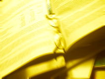 Rapport annuel Photographie stock libre de droits