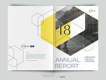 Rapport annuel de conception illustration libre de droits