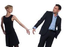 Rapport de couples Images stock