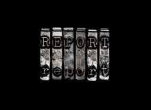 Rapport eller studie Royaltyfri Bild