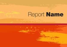 Rapportdekking 2015 stock illustratie