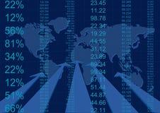 Rapporto astratto di affari Immagini Stock