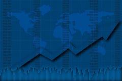 Rapporto di finanze Fotografia Stock